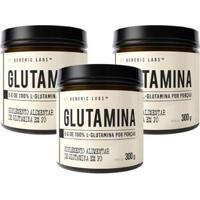 3X Glutamina (300G) - Generic Labs - Unissex