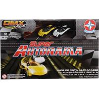 Super Autorama Dmx Estrela Carros Amarelo E Branco