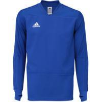 Blusão De Treino Adidas Condivo 18 - Masculino - Azul