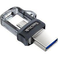 Pen Drive Sandisk Ultra Dual Drive Usb / Microusb Compatível Com Smartphone 32Gb - Sddd3-032G-G46