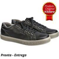 Sapatênis Kildare Couro An Trend Ru211 Black