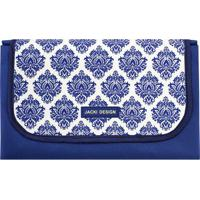 Tapete Para Piquenique Impermeável- Azul & Branco- 1Jacki Design