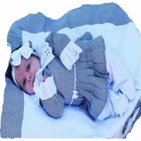 Saída De Maternidade 5 Peças Requinte
