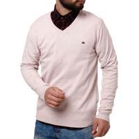 Suéter Masculino Rosa