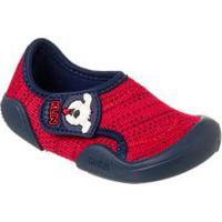Sapato New Comfort Infantil Vermelho - Klin - 18