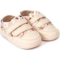 Tênis Bebê Fanfy Lee Conforto Velcro Feminino - Feminino-Rosa