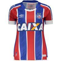 Netshoes  Camisa Umbro Bahia Ii 2017 Feminina N° 10 - Feminino c037e4dcc5a59