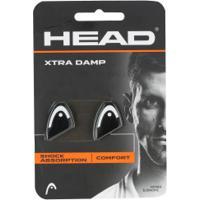 Antivibrador Head Xtra Damp - 2 Unidades - Preto/Branco