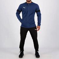 Agasalho Puma Track Suit Masculino - Masculino-Marinho+Preto