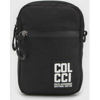 Bolsa Colcci Fitness Crossbody Etiqueta Preta