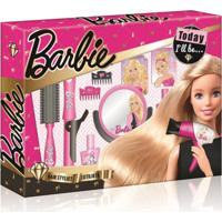 Barbie Hairstylist Babyliss Rosa Multikids