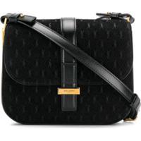 Saint Laurent All-Over Monogram Handbag - Preto
