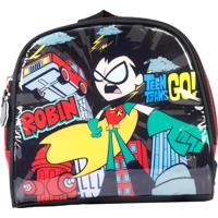 Lancheira Teen Titans Go La32323Tg Preta