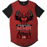 Netshoes  Camiseta Attack Life Long Lutas E Musculação Lutador Mma  Sublimada Masculina - Masculino cf838a28518
