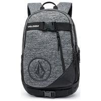 Mochila Volcom Street Premium Skate Bag Reforçada 14-Cinza