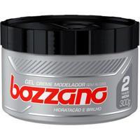 Gel Creme Modelador Bozzano Fixação Média 300Ml - Unissex-Incolor