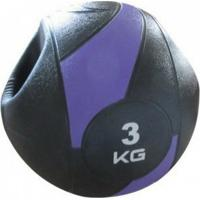 Bola Liveup De Peso Medicine Ball Ls3007A/3 Com Pegada 3Kg - Unissex