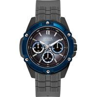 Relógio Guess Masculino Borracha Cinza - W1302G3