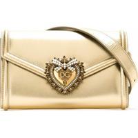 Dolce & Gabbana Pochete Sacred Heart Metálica - Neutro