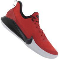 Tênis Nike Mamba Focus - Masculino - Vermelho/Preto