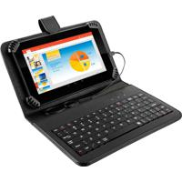 "Tablet Multilaser M7S 7"" Com Teclado 8Gb Wi-Fi Quad Core Nb196 Preto"