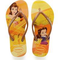 Chinelo Infantil Princesa Bela Disney Havaianas