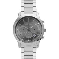 Relógio Euro Multi Basics Pushers Feminino - Feminino-Prata