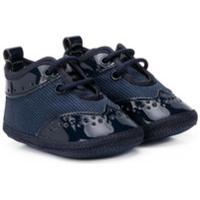 Colorichiari Sapato Brogue Com Amarração - Azul