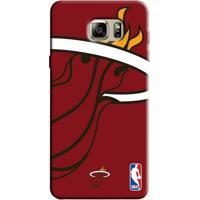 Capinha Para Celular Nba - Samsung Galaxy Note 5 - Miami Heat - D18 - Unissex
