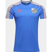 Camisa Santos 2019 Treino Umbro Masculina - Masculino