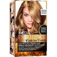 Coloração Imédia Excellence Fashion Paris Nº 6.032 Chocolate Passarela Imedia 1 Unidade