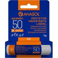 Protetor Hidratante Labial An Sport Fps 50 Anasol 5G - Unissex-Incolor