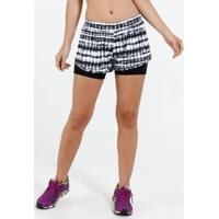 Short Feminino Fitness Estampado Marisa
