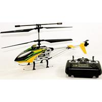 Helicoptero Com Controle Remoto Radio Frequencia Drake W5 Com Sistema De Giro E Luz Grande Recarregavel