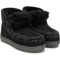 Mou Kids Slip-On Boots - Preto