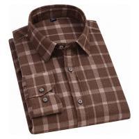 Camisa Xadrez Blandford Flanelada Masculina - Marrom