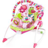 Cadeira De Balanã§O - Pink & Verde Claro- 87X72X61Cm Bright Starts