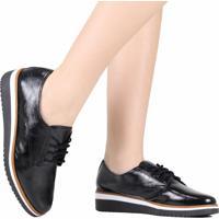 Sapato Oxford Zariff Verniz