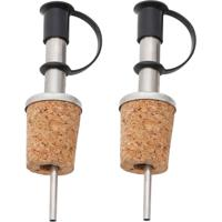 Conjunto 2 Peças Bico Dosador Em Aço Inox C/Cortiça Andrews