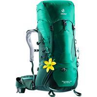 Mochila Semi Cargueira Deuter Aircontact Lite 3510 Sl 2018 Para Trekking Verde