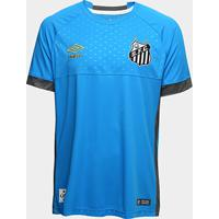 Netshoes  Camisa De Goleiro Santos I 2018 S N° Torcedor Umbro Masculina -  Masculino b2c19fc8636d6