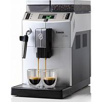 Cafeteira Automática Saeco Lirika Plus 110V Com Moedor, Visor Iluminado, Bomba De Pressão De 15 Bar