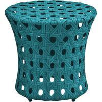 Puff Ceres Estrutura Em Aluminio Revestido Em Fibra Cor Piscina - 44652 - Sun House