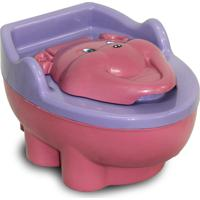 Penico Baby Style Troninho Redutor Urso Rosa