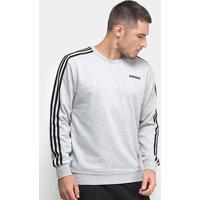Blusa Adidas Essentials 3 Stripes Crew Ft Masculina - Masculino