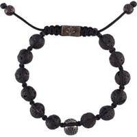 Nialaya Jewelry Pulseira De Prata - Preto