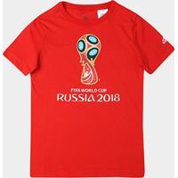 Camiseta Infantil Adidas Emblema Copa - Unissex