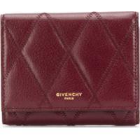 Givenchy Porta-Cartões Matelassê - Vermelho