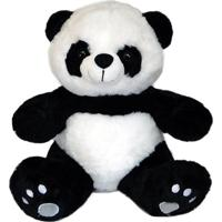 Urso Panda De Pelúcia - 30Cm Sentado