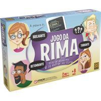 Jogo De Tabuleiro Infantil Grow 8515-1 Da Rima